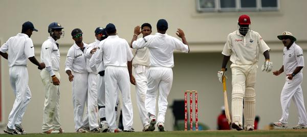 India won Test series in West Indies in 2006