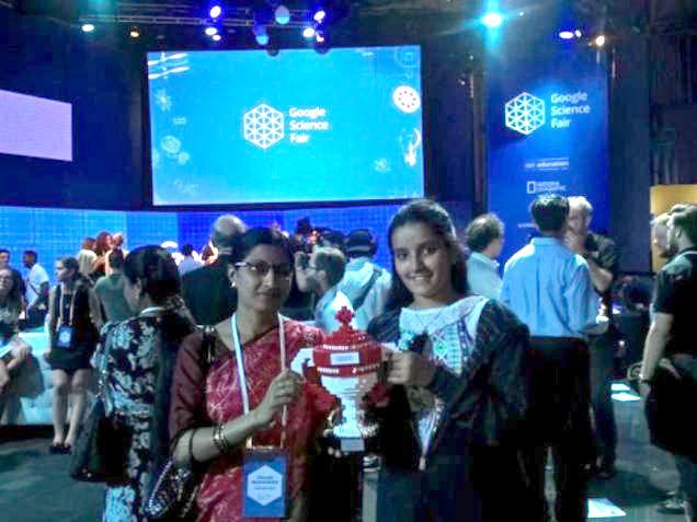 13 year old wins Community Impact Award at Google Science Fair