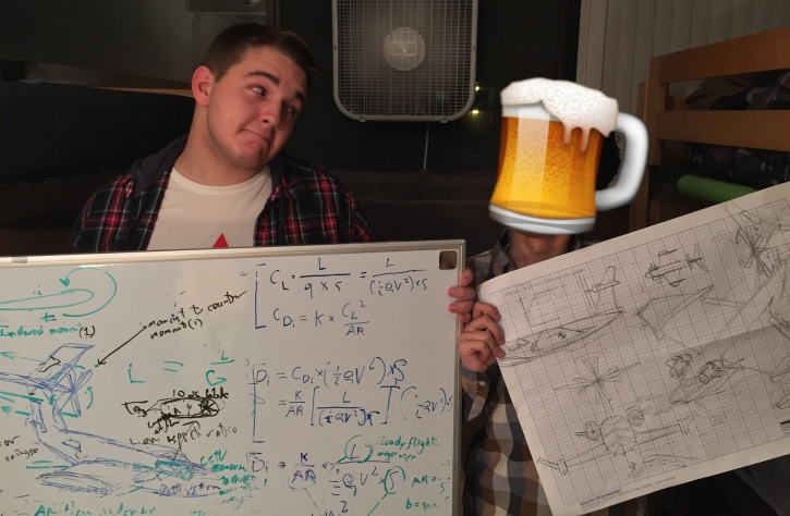 engineering student who drunk-designed a plane