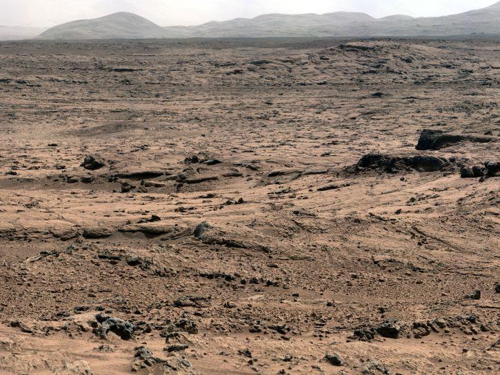 Nitrogen on Mars