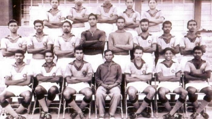 Indian team under Rahim