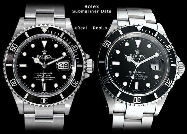 Fake Rolex watch