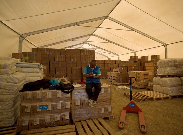 nepal relief supplies