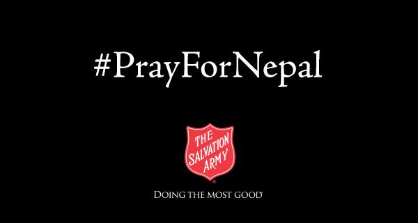nepal earthquake salvation army