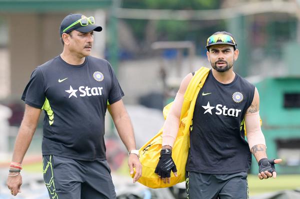 Shastri and Kohli