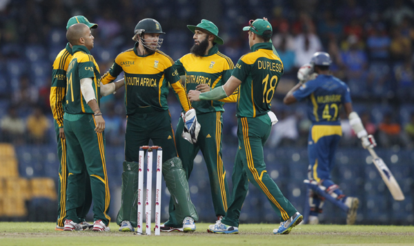 South Africa during 2015 ICC Cricket World Cup