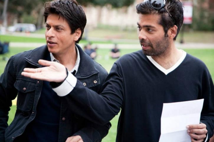 Karan Johar and SRK
