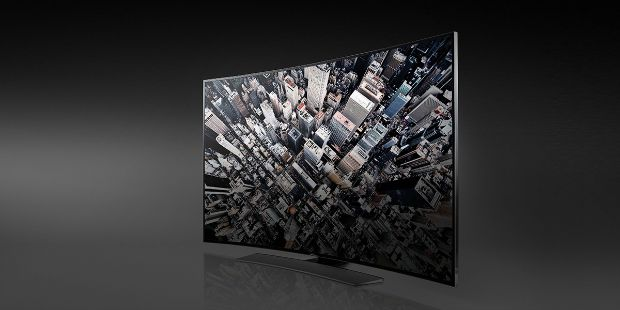 Double-sided TV