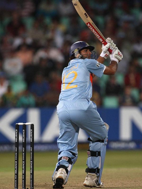 Yuvraj Singh 2nd six