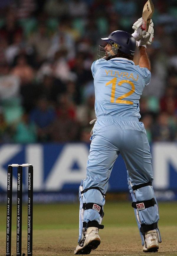 Yuvraj Singh 4th six