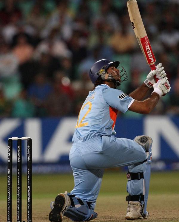 Yuvraj Singh 5th six