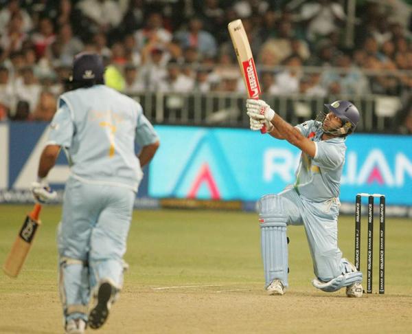 Yuvraj Singh 6th six