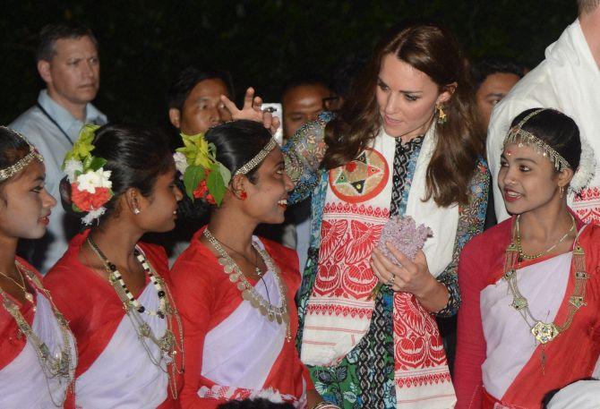 #RoyalVisitIndia