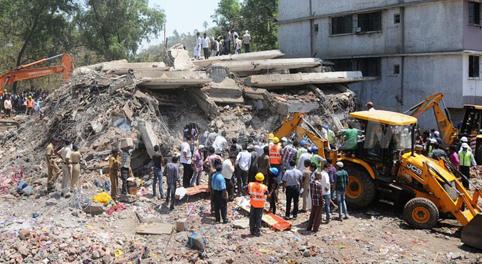 Building Collapses In Mumbai; 6 Dead, Several Trapped