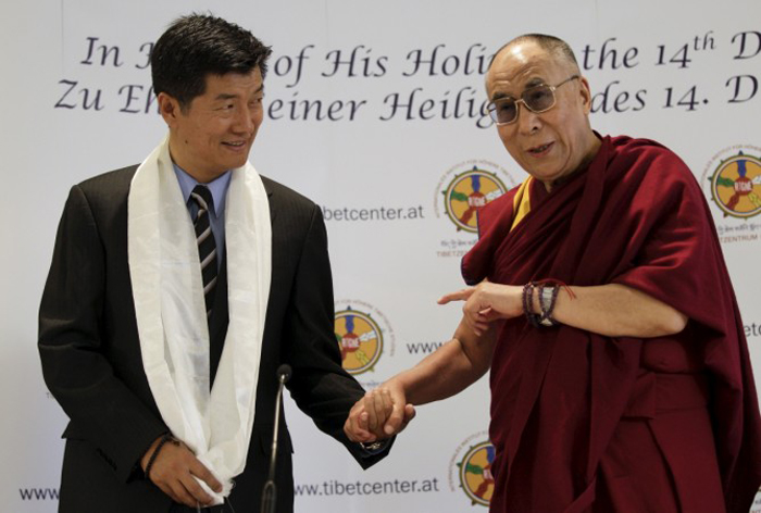 Tibetans In Exile Re-Elect Lobsang Sangay As Prime Minister
