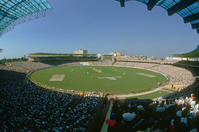 The Eden Gardens during the 1987 Cricket World Cup