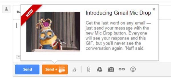 Gmail Mic Drop Prank