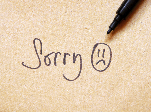 How To Apologise