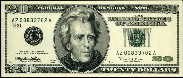 USA $20 Bill