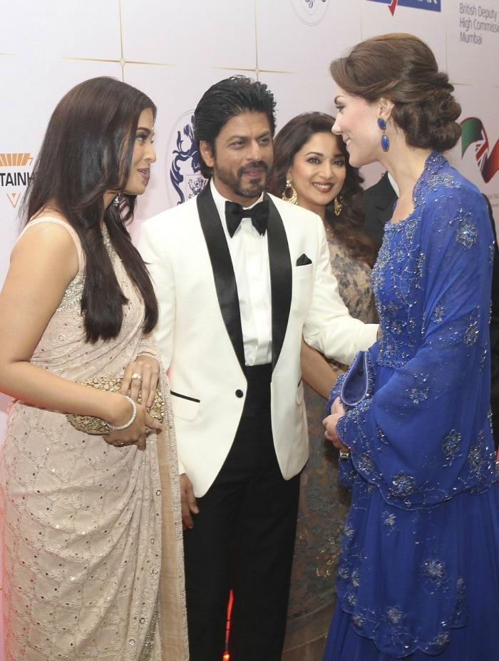 Kate Middleton, SRK and Aishwarya