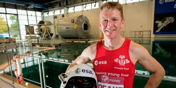 Tim Peake London Marathon