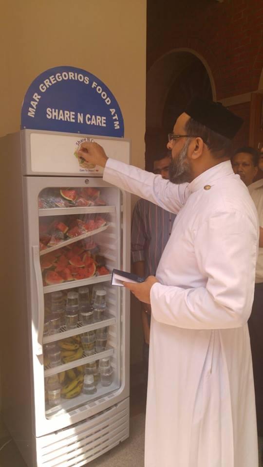 Share N Care food vending machine