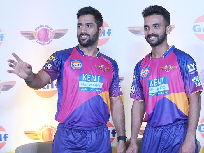 Dhoni and Rahane