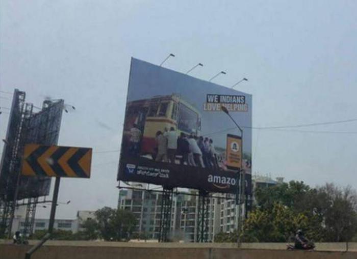 Amazon Forced To Apologise For Hoarding Mocking Kerala