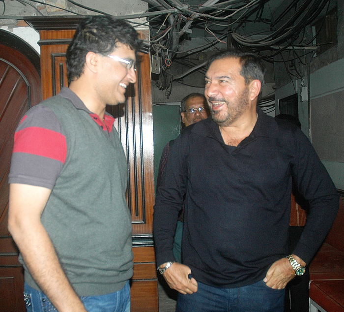 Arun Lal & Sourav Ganguly