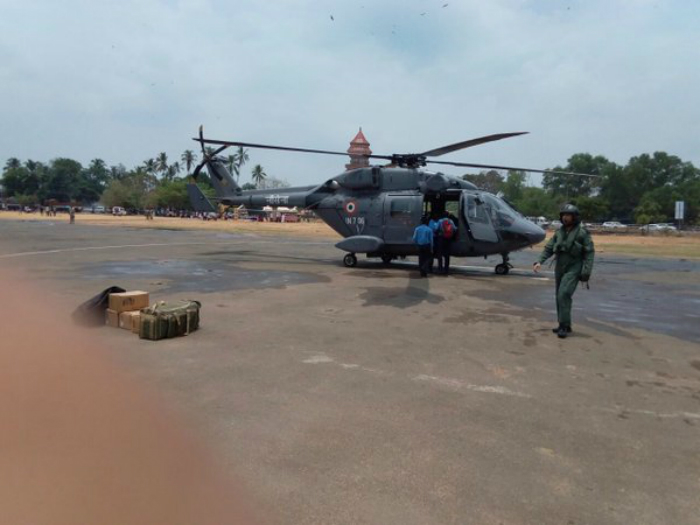 Indian Navy Dhruv