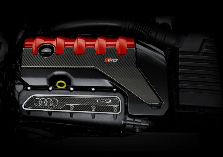 Audi TT RS 2.5 TFSI with 400 horse power