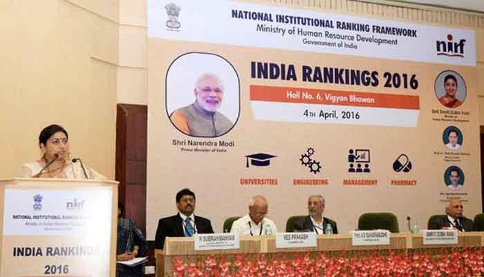 JNU, HCU Among Top Central Universities