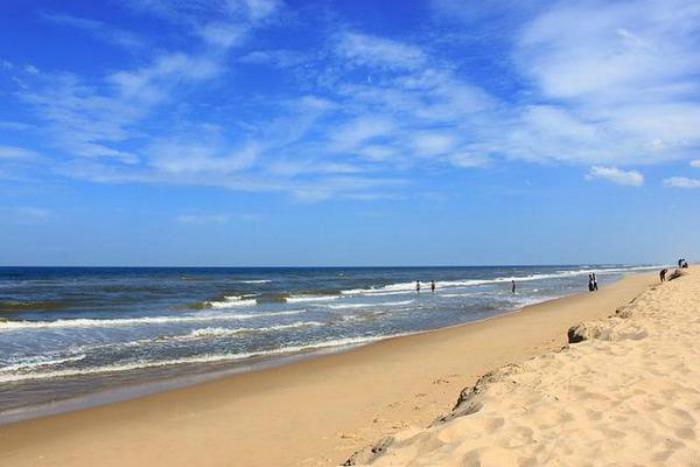 Madras beach