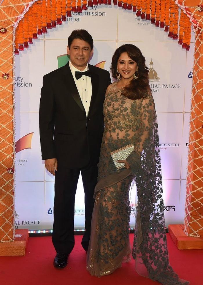 Madhuri Dixit and Dr Nene