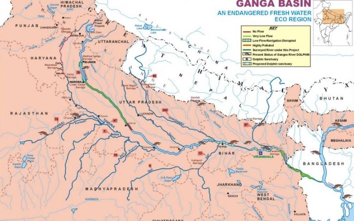 Ganga Map