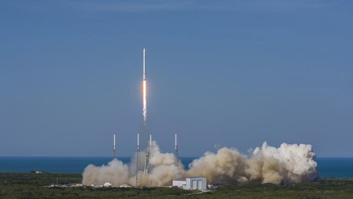 SpaceX Makes History, Lands Rocket On A Floating Drone In Sea
