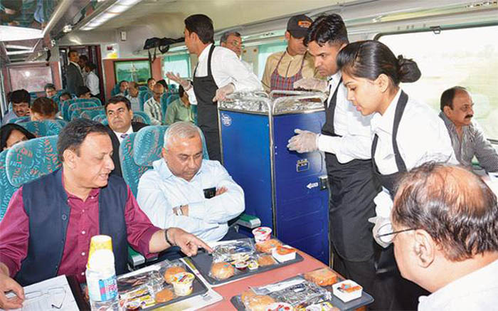 Soon You Might Be Able To Have Home Cooked Local Food On Trains Across India