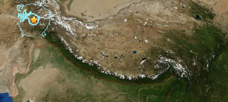 Afghanistan 6.6 quake April 10