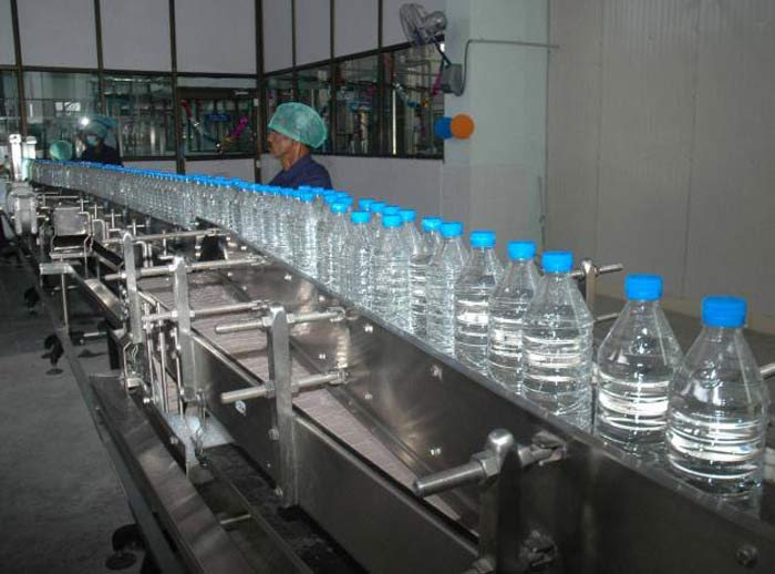 Packaged water