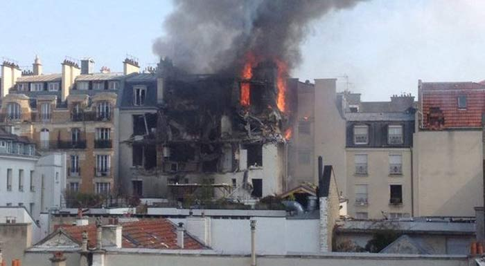 Paris Explosion: Injuries Reported After Blast Caused By Gas Leak In French Capital