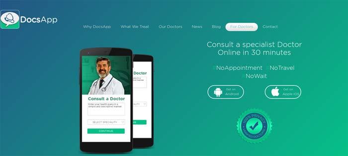 DocsApp provides consultation