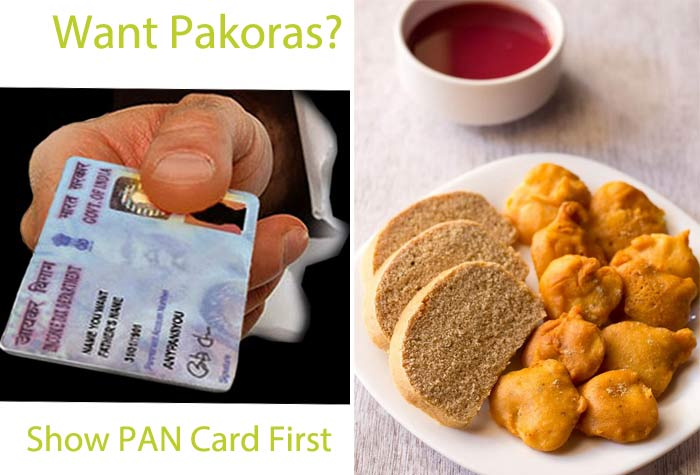 Jewellers Stage Protest: Want Pakoras? Show PAN Card First