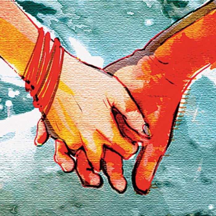 For Mandya couple, love unites, but