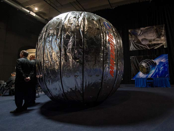 SpaceX Delivers The World's First Inflatable Room For Astronauts