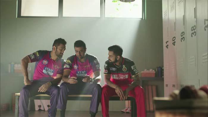 When R Ashwin got trolled by MS Dhoni and Virat Kohli