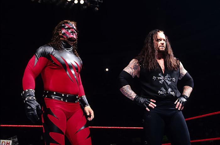 Kane and Undertaker