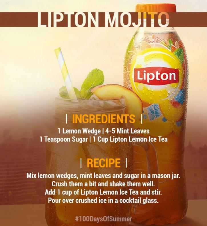 lipton mojito