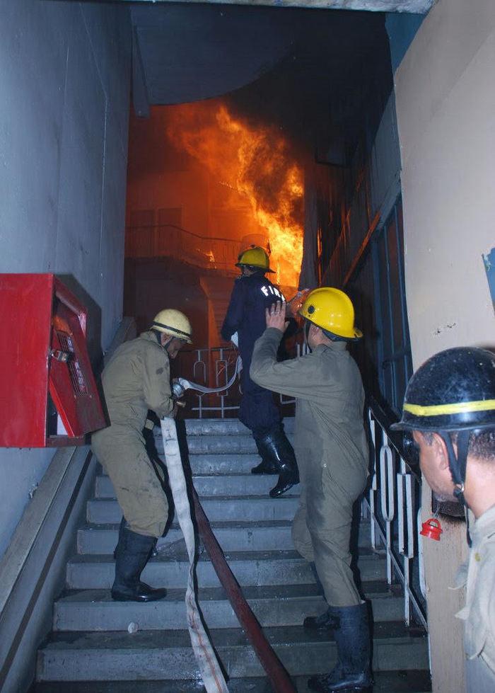 Delhi fire services museum fire 3