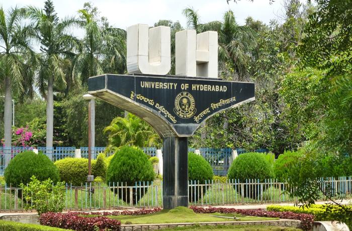 Hyderabad University Denis Entry To Ambedkar