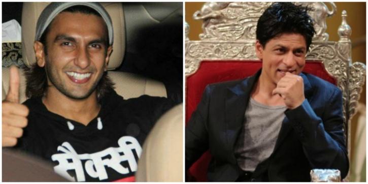 Ranveer Singh and SRK